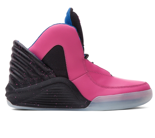 Die schönsten Sneaker 2014: Supra Chimera Black Carbon Fiber with Pink Speckle/Pink Leather Clear