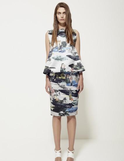 Louise Amstrup, für Sie – Fashion News 2014 Frühling/Sommer