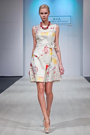 Belarus Fashion Week April 2014 präsentiert – AVA by Valeria Aksionava, für Sie – FS14