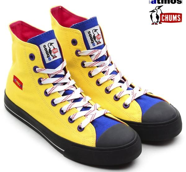Die schönsten Sneaker 2014: Chums × atmos Zapatos Hi Yellow