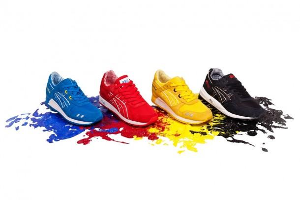 Die schönsten Sneaker 2014: Das ASICS CMYK-Pack