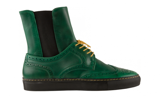 "Die coolsten Sneaker Boots 2014 - Creative Recreation ""Zerilli Hi Green"""