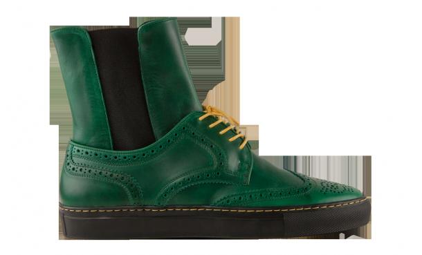 """Die coolsten Sneaker Boots 2014 - Creative Recreation """"Zerilli Hi Green"""""""
