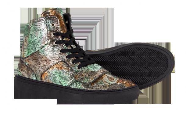 Die außergewöhnlichsten und schönsten Sneaker 2014: Creative Recreation - Cesario x Fishscale Black