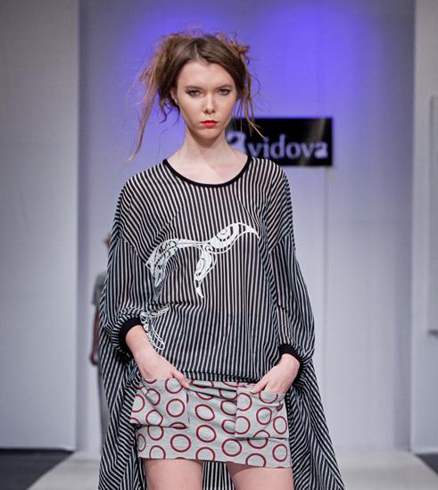 Belarus Fashion Week April 2014 präsentiert – DAVIDOVA, für Sie – FS14