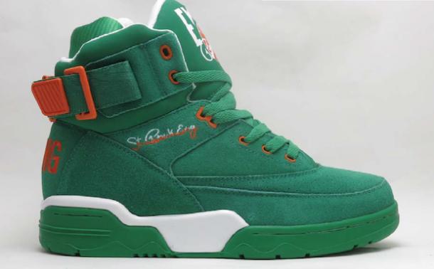 Die schönsten Sneaker 2014: Der Ewing 33 Hi St. Patricks Day