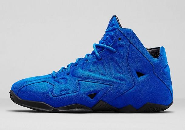 """Die schönsten Sneaker 2014: Nike LeBron 11 EXT """"Blue Suede"""""""
