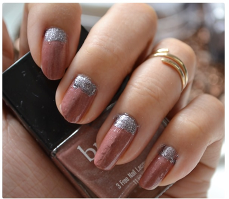 Manicure Monday | NAIL TUTORIAL #Glitter meets Mauve (+English version)