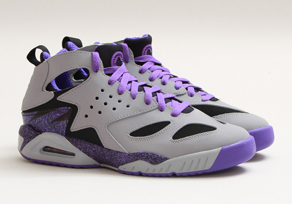 Die schönsten Sneaker 2014: Nike Air Tech Challenge Huarache – Wolf Grey – Purple Venom