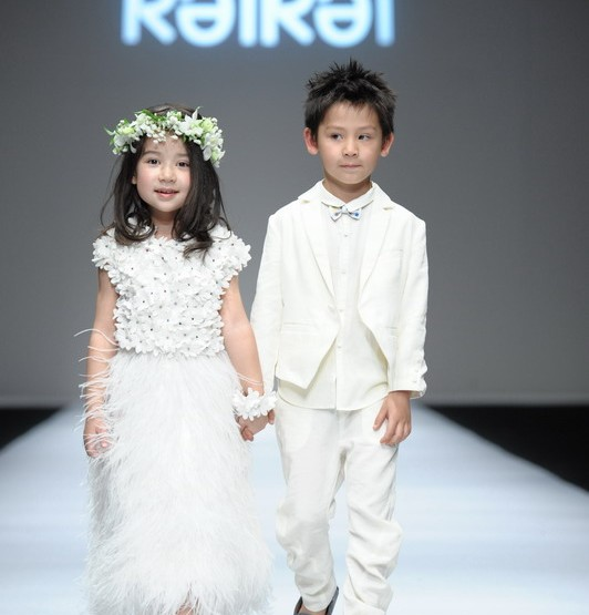 Shanghai Fashion Week April 2014 presenta - Kelkel, per e donne è zitelli - SS14