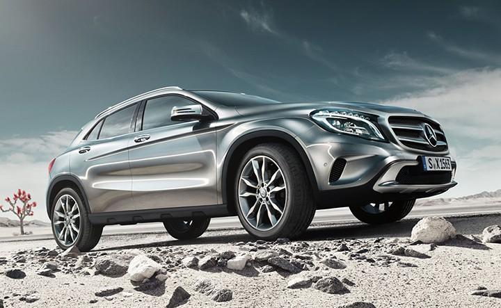 Der neue GLA von Mercedes-Benz - Freiheit ist ansteckend