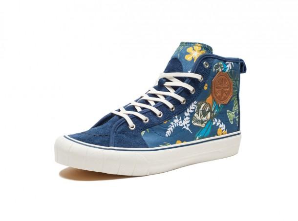 Die schönsten Sneaker 2014: Vans TH Court Hi LX Paradise Classic Blue