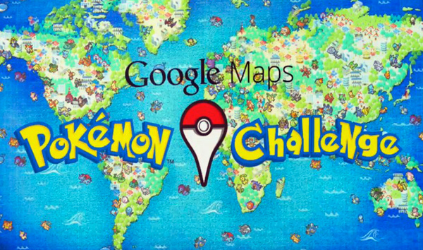 Pokémon Master via Google Maps!