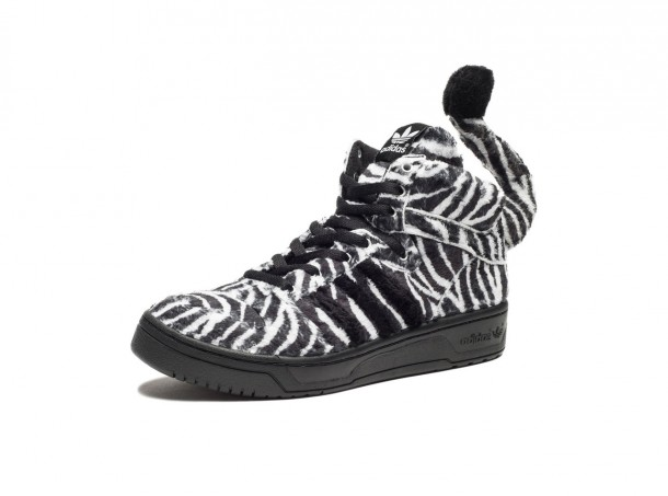 The most beautiful Sneakers 2014: Adidas Jeremy Scott Zebra