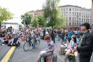 Lange Buchnacht in der Oranienstraße, 8. Juni 2013