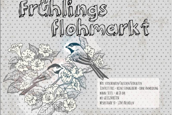Event Tip Berlin | Nachtflohmarkt on 30 May @ Gelegenheiten