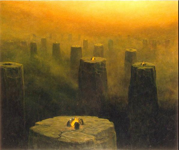 Focus à l'artisti Zdzislaw Beksinski - Visioni di l'infernu