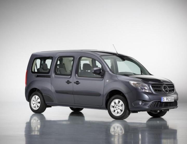 Der neue Mercedes-Benz Citan: Extralang mit bis zu sieben Sitzplätzen