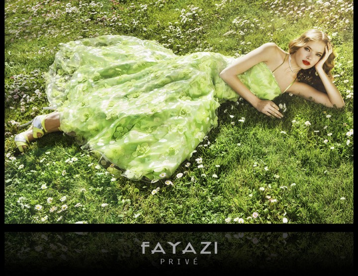 Barcelona Bridal Week May 2014 presents – Fayazi, for women