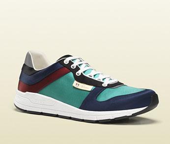 Die schönsten Sneaker 2014: Guccis Satin-Sneaker