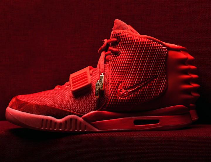 Die schönsten Sneaker 2014: Red Nike Air Yeezy 2