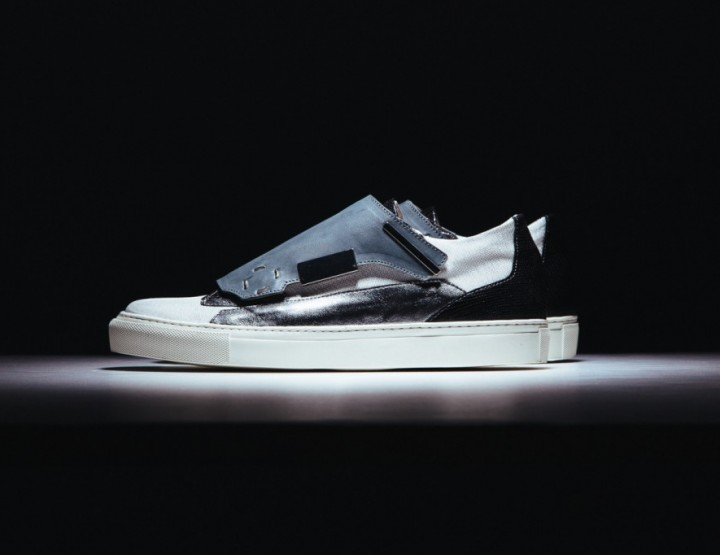 Die schönsten Sneaker 2014: Raf Simons 2014 Spring/Summer Removable Lace Guard Sneaker