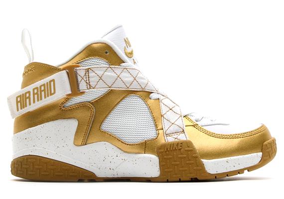 Die schönsten Sneaker 2014: Nike Air Raid – Gold