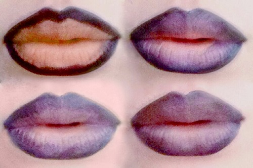 Styling and  Beauty Tip Berlin | Ombré lips