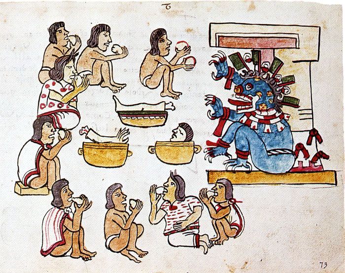 human sacrifice in the aztec culture