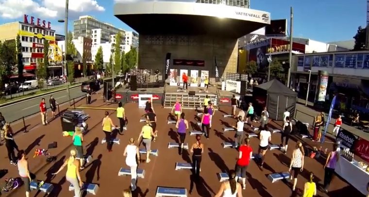 Events in Munich | Reebok Fitness Remix on Juni 14th 2014 @ Olympia Park