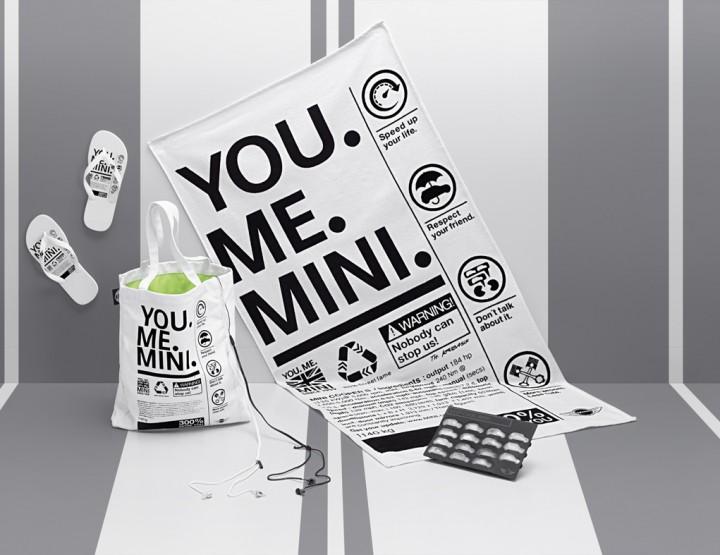 Sonne tanken mit MINI - Neue, modische Minikollektion für den Strand