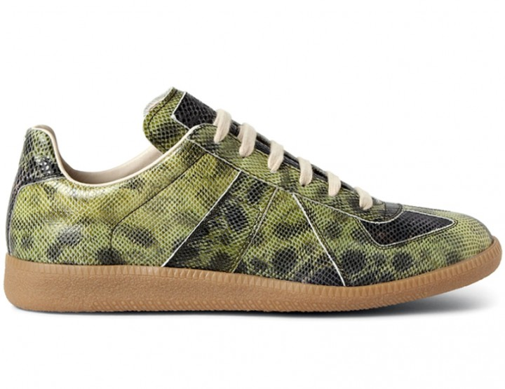 Die schönsten Sneaker 2014: Maison Martin Margiela embossed Leather Replica Sneakers