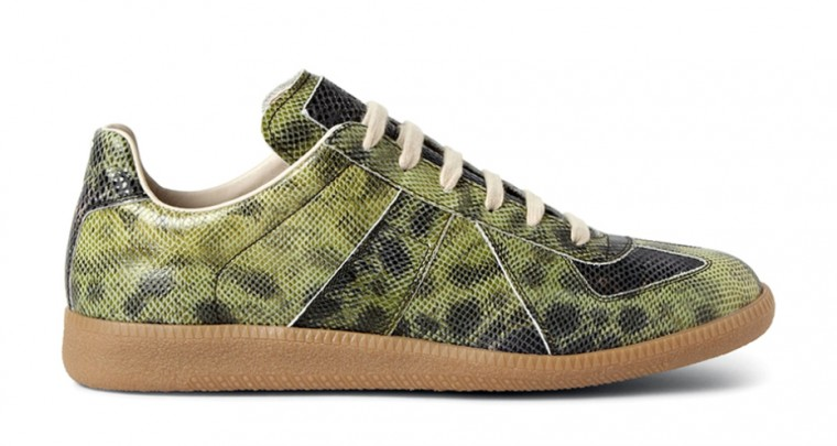 The most awesome Sneakers 2014: Maison Martin Margiela embossed Leather Replica Sneakers