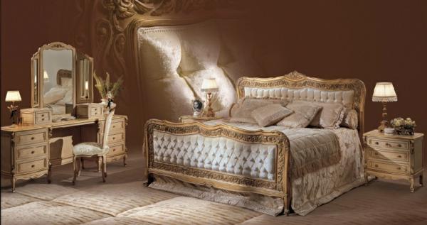 Mööbliots: Angelo Cappellini kuninglik magamistuba