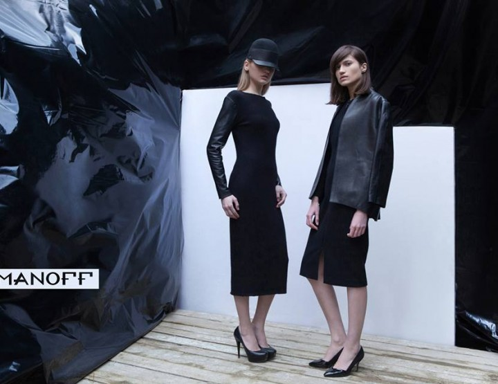 Fashion Week Lviv Mai 2014 präsentiert - Domanoff, für Sie HW14/15