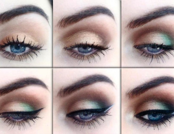 Styling- und Beauty-Tipp Berlin | Farbiger Smokey Eye Tutorial