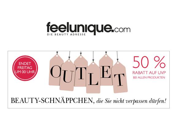 Beauty on a Budget | 50% Rabatt im Beauty Outlet und 20% Rabatt mit Code auf Feelunique