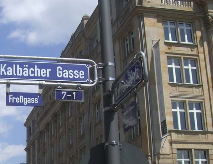 Veranstaltungstipp Frankfurt am Main | Freßgass' Festival bis zum 6. Juni