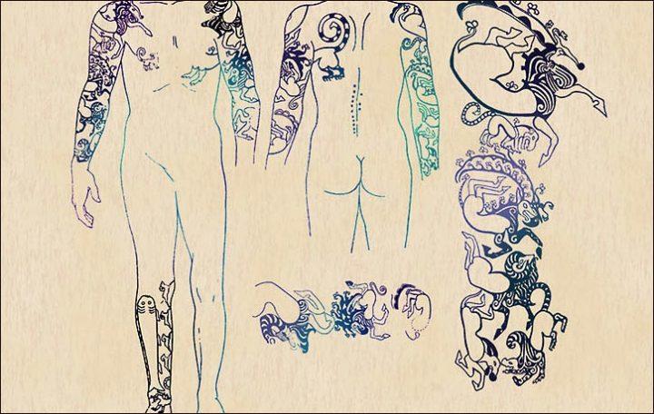 Die 2500 Jahre alten Tattoos einer Ukok-Prinzessin