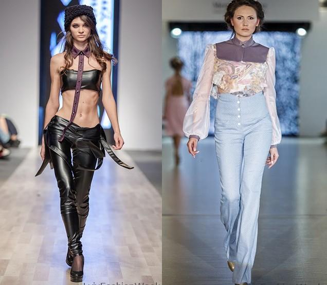 Fashion Week Lviv Mai 2014 präsentiert - Ivanna Yukhymchuk, für Sie FS14 +HW14/15