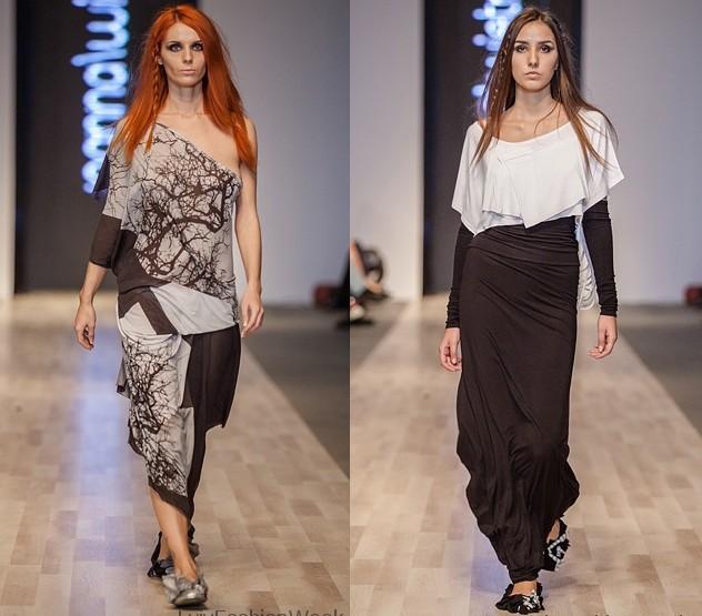 Fashion Week Lviv Mai 2014 präsentiert - Joanna Wietrzycka, für Sie FS14