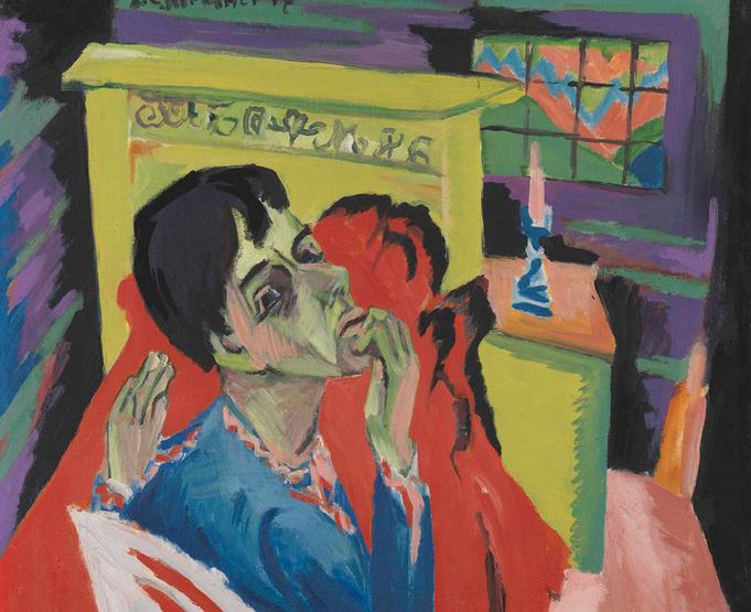 Ausstellungstipp München   Farbenmensch Kirchner