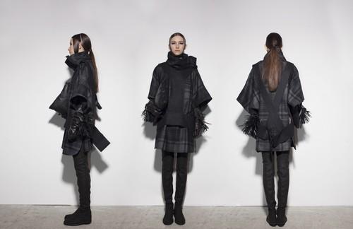 Fashion Week Lviv Mai 2014 präsentiert - KAMENSKAKONONOVA, für Sie HW14