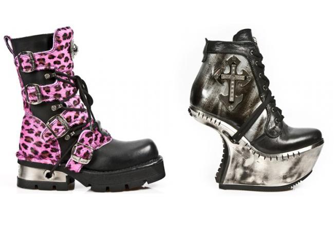 LondonEdge Berlin Fashion Trade Show Juli 2014 präsentiert – New Rock Schuhe, für Sie & Ihn