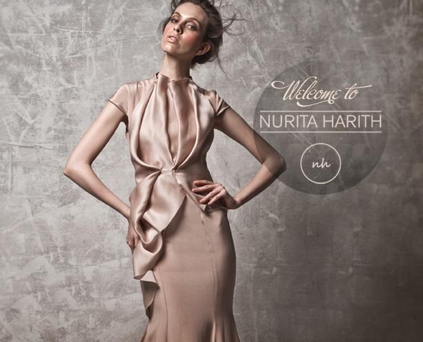 Kuala Lumpur Fashion Week Juni 2014 präsentiert - Nurita Harith, für Sie