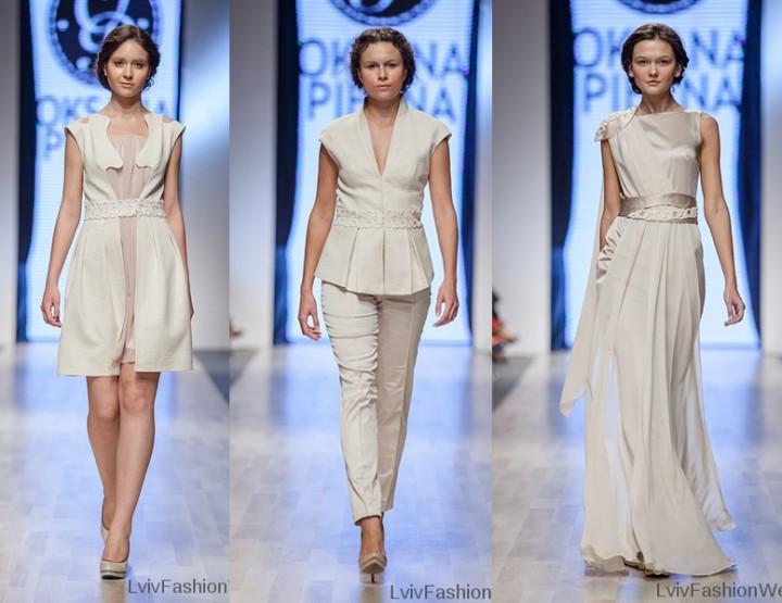 Fashion Week Lviv Mai 2014 präsentiert - Oksana Piekna, für Sie FS14