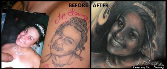 Scott Versago, der Retter der verpfuschten Tattoos
