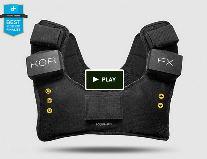 Gaming News 2014 | Virtual Reality by KOR-FX - Neue Spielerweste