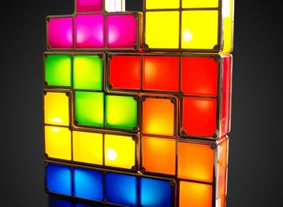 Einrichtungstipp: Tetris Lampe