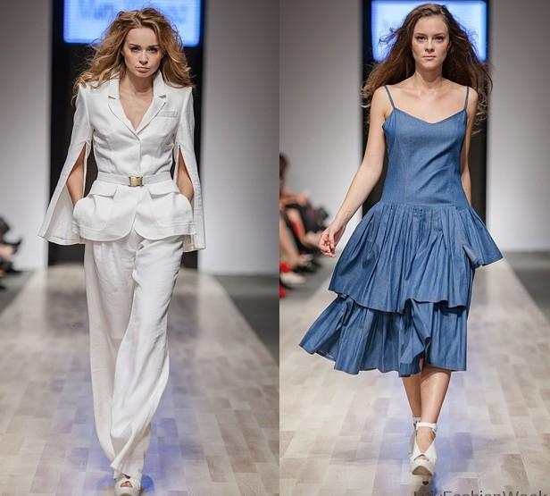 Fashion Week Lviv May 2014 presents - Marta Wachholz, for women SS14